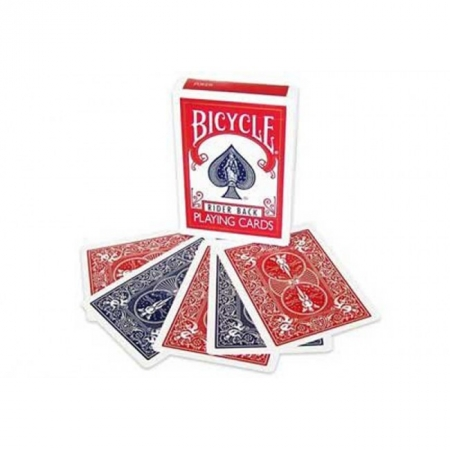 Карты для фокусов Bicycle Magic. Double Back Red-Blue, 22064