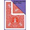 Карты для фокусов Bicycle Magic. Double Back Red-Red, 2587