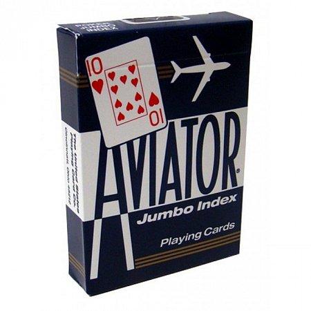 Изображение - Карты Aviator Jumbo Index Blue, 1000876blue