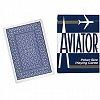 Карты Aviator Jumbo Index Blue, 1000876blue