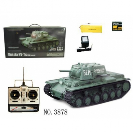 Танк на радиоуправлении KV-1S (електро)