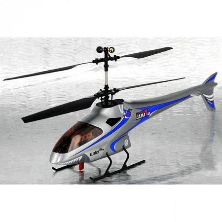 Модель вертолёта на радиоуправлении LamaV4 (синий)