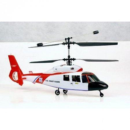 Радиоуправляемый вертолет Дельфин (красный) E-Sky