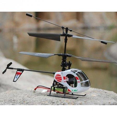 Радиоуправляемый вертолет NANO (белый)