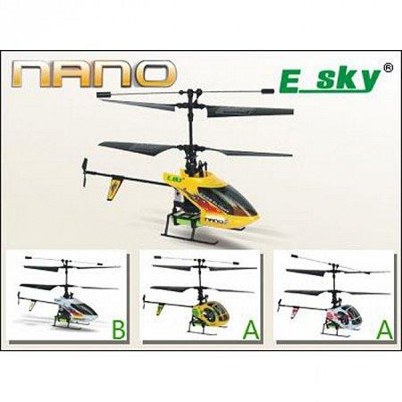 Радиоуправляемый вертолет NANO (желтый)
