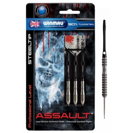 Дротики Winmau Assault 90% tungsten steeltip 24g