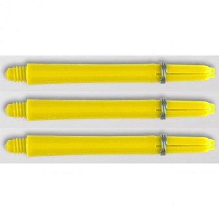 Изображение - Хвостовики Abbey (пластик с кольцом) Yellow short 2BA