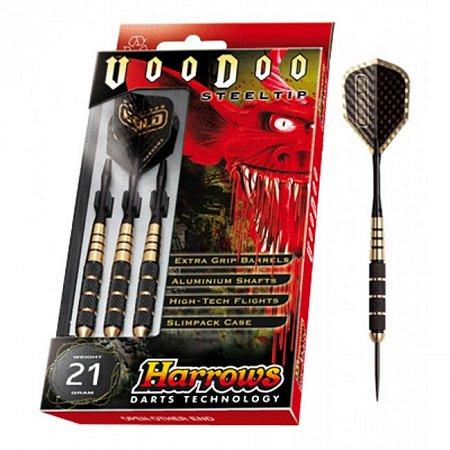 Дротики Harrows Voodoo Brass steeltip 21g