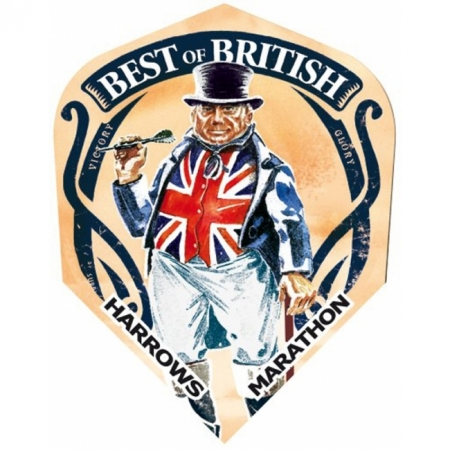 Оперение Harrows Marathon Best Of British 1550