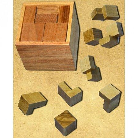 Деревянная головоломка Гала-куб. Круть Верть. 6006