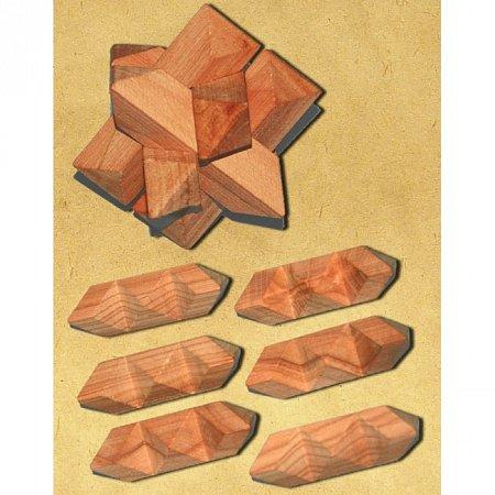 Деревянная головоломка Гордиев узел. Круть Верть