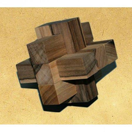 Деревянная головоломка Крест 2+3+3. Круть Верть