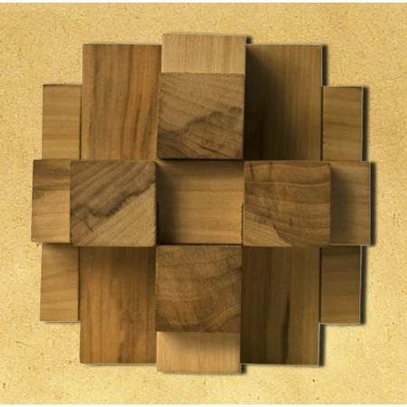 Деревянная головоломка Крест Альтекрузе 12. Круть Верть