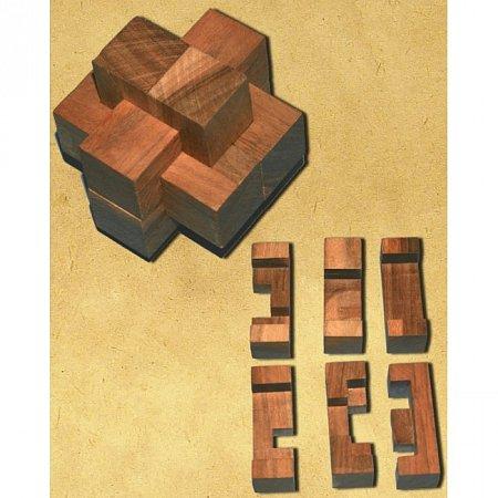 Деревянная головоломка Крест Дюбуа. Круть Верть