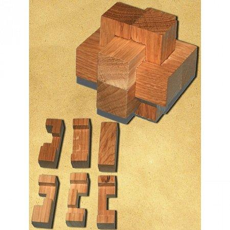 Деревянная головоломка Крест Макарова. Круть Верть