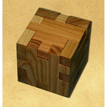 Деревянная головоломка Куб пентамино. Круть Верть
