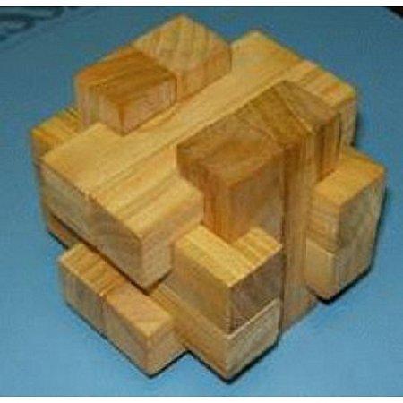 Деревянная головоломка Погремушка. Круть Верть