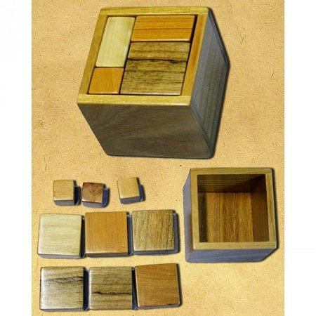 Деревянная головоломка Упаковка №1. Круть Верть