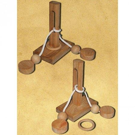 Веревочная головоломка Ушко иголки (2249). Круть Верть