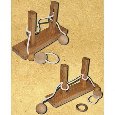 Веревочная головоломка Ушко иголки (2491). Круть Верть
