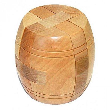 Деревянная головоломка Бочонок. Круть Верть. 6022