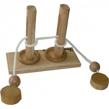 Веревочная головоломка Ушко иголки (2К). Круть Верть