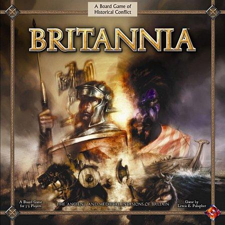 Britannia настольная игра. Англ.