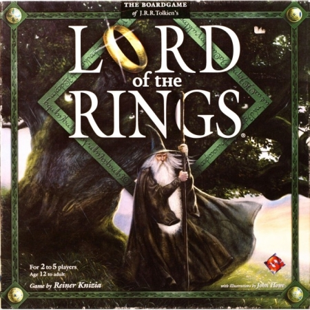 Lord of the Rings Boardgame (на английском языке)