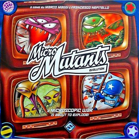 Настольная игра Micro Mutants: Evolution (англ.)