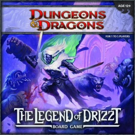 D&D Legend of Drizzt. BoardGame (англ.)