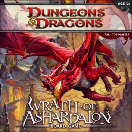 D&D Wrath of Ashardalon. BoardGame (англ.)