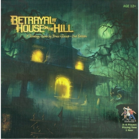 Betrayal at House on the Hill. 2nd Ed (англ.)