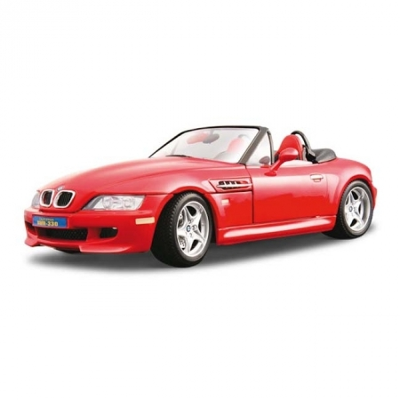 Авто-конструктор BMW M ROADSTER (1996) (красный, 1:18)