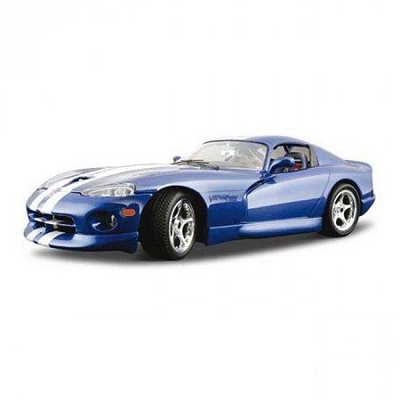 Изображение - Авто-конструктор DODGE VIPER GTS COUPE (1996) (синий, 1:18)