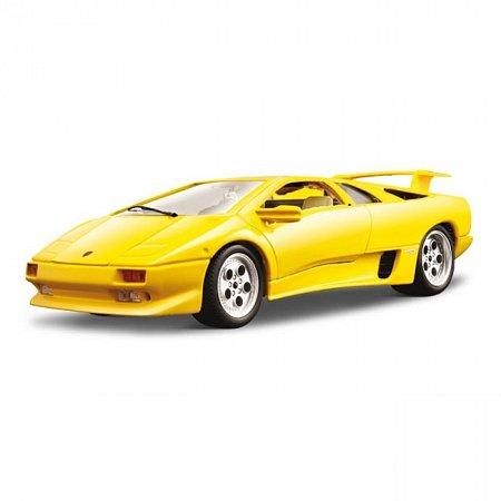 Изображение - Авто-конструктор LAMBORGHINI DIABLO (1990) (желтый, 1:18)
