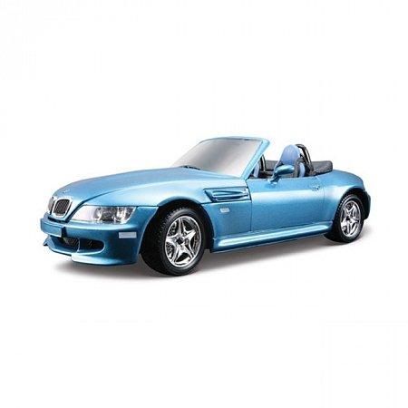 Авто-конструктор BMW M ROADSTER (1996) (синий, 1:24)