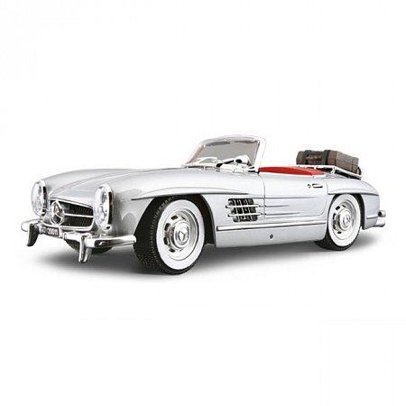 Авто-конструктор MERCEDES-BENZ 300 SL TOURING (1957) (серебристый, 1:18)