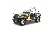 Авто-конструктор JEEP CJ-7 ARMY (1980) (хаки, 1:24)
