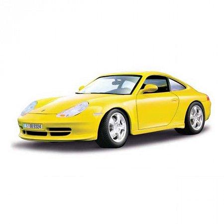 Изображение - Авто-конструктор PORSCHE 911 CARRERA 4 (1998) (желтый, 1:18)
