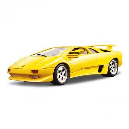 Авто-конструктор LAMBORGHINI DIABLO (1990) (желтый, 1:24)