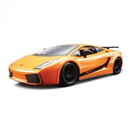 Изображение - Авто-конструктор LAMBORGHINI GALLARDO SUPERLEGERRA 2007 (оранжевый металлик, 1:24)