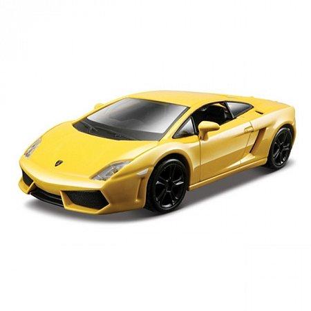 Авто-конструктор LAMBORGHINI GALLARDO LP560-4 (2008) (желтый металлик, 1:32)