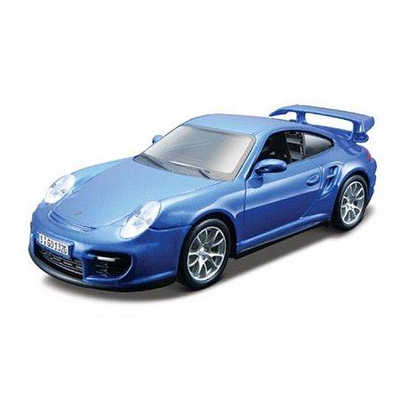Изображение - Авто-конструктор PORSCHE 911 GT2 (голубой, 1:32)