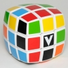 Кубик Рубика V3 с белой основой (V-CUBE 3). V3b-WH