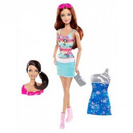 Кукла Барби Модница 2 в 1 серии Меняй стиль