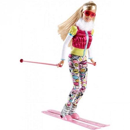 Кукла Барби Лыжница