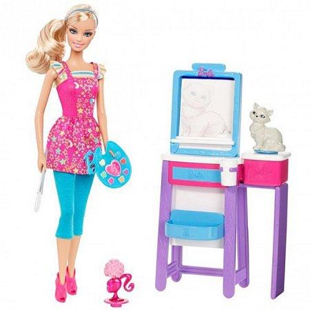 Кукла Барби Учительница рисования