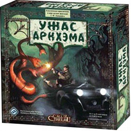 Настольная игра Ужас Аркхэма (Arkham Horror). Hobby World (1012)