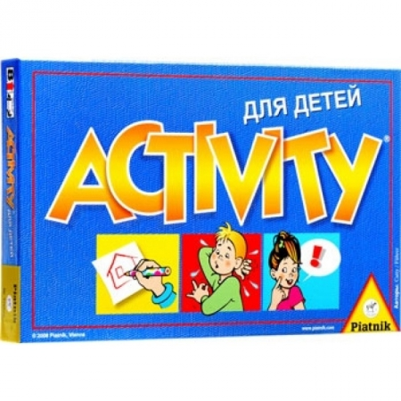 Настольная игра Активити для детей (Activity Kids). Piatnik (793646)