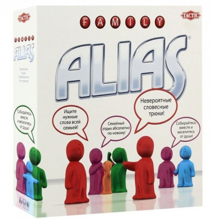 Настольная игра Family ALIAS. Семейный Алиас (на русском языке)